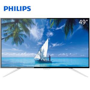飞利浦(PHILIPS)49PUF6701/T3 49英寸4K安卓5.1智能液晶平板电视机
