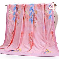 竹纤维棉双层复合毛巾被 双人毛巾毯子 空调被单双人夏凉被盖毯