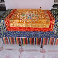 藏传佛教用品 桌布 桌围 桌套 供桌布 藏饰布料