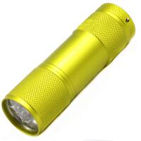 9LED铝合金迷你小手电 3节7号电池礼品手电