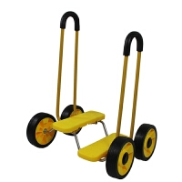 幼儿园感统训练器材四轮平衡脚踏车儿童健身车单人平衡踩踏车玩具