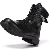 07式防水钢头 SMD战术军靴双密度作战靴 透气07作战靴 男士防火防刺防燃靴军靴