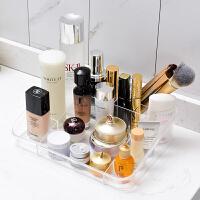 化妆品收纳盒 小仙女化妆盒透明塑料收纳筐2020新款口红首饰化妆用品收纳盒