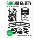 Baby Art Gallery 宝宝艺术画廊:把你的孩子变成艺术评论家 儿童游戏书3-6岁