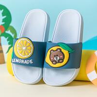 �和�拖鞋夏天男童女童室�刃�家居家用�底防滑����小孩�H子�鐾闲�