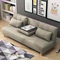 布艺沙发床简约小户型折叠功能床1.2日式懒人沙发双人 三人