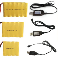 �b控�充��池 USB充�� 7.2V �S秒�池 �b控�充��池7.2V(�品不�钨u)