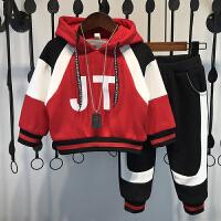 男童秋装套装洋气宝宝秋冬季潮两件套