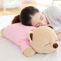 毛绒玩具抱抱熊创意生日礼物女生可爱趴趴熊猫音乐枕公仔睡觉抱枕