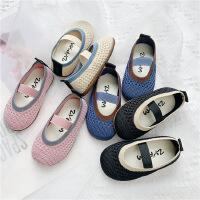 童鞋�底豆豆鞋女�和�奶奶鞋女童�_�W室�柔��鞋
