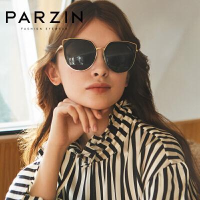 帕森偏光镜女士优雅时尚猫眼太阳镜司机驾驶镜潮人墨镜女9921满198减20;299减30。年终型潮,镜情享购!