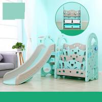 儿童滑滑梯秋千组合室内家用幼儿园宝宝小型小孩多功能玩具收纳架