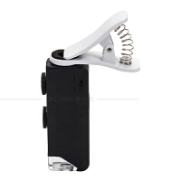 OUJIN 所有手机通用带夹具放大镜 60倍-100倍口袋式显微镜古玩字画珠宝玉石签定