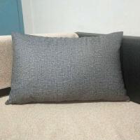 长方形靠枕靠垫套不含芯客厅沙发抱枕腰枕大靠背大号床头定做家用J