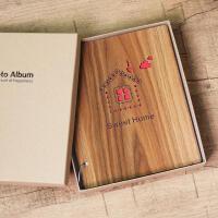 7寸相册本400张插页式家庭宝宝儿童5R影集纪念册像册相薄七寸 抖音