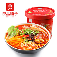 【良品铺子-酸辣粉135g】红薯粉桶装方便米线速食非油炸