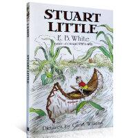 顺丰发货 Stuart Little 精灵鼠小弟 E. B. White E・B・怀特经典作品小说 英文原版少年小说