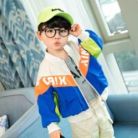 童装男童春装外套儿童中小童夹克帅气休闲宝宝上衣