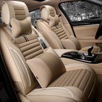 四季通用汽车坐垫全包围座垫夏季亚麻汽车座套专用座套