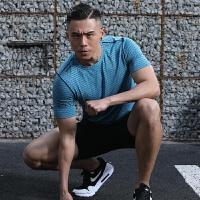 速干衣男短袖健身房训练跑步服宽松透气篮球运动上衣半袖T恤