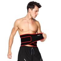 运动护腰带 健身举重深蹲透气加压护腰篮球羽毛球腰托男女士运动护具