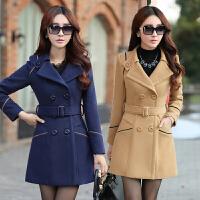 中年妇女装秋冬天薄款呢子外套气质冬装外衣服30-35-40岁女士上衣