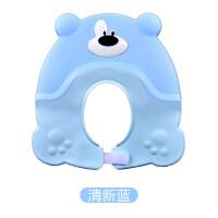 男孩宝宝洗头帽婴儿防水浴帽护耳神器儿童硅胶洗澡帽可调节小孩洗发帽 启蒙早教益智 可调节