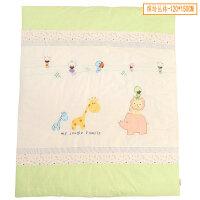 幼儿园彩棉针织四季被3-8岁幼童盖被纯棉宝宝空调被春秋被加大 120*150 2.5斤棉花胎