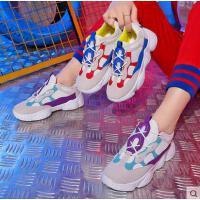 运动鞋女韩版ulzzang原宿小白网红同款新款女鞋百搭老爹鞋子