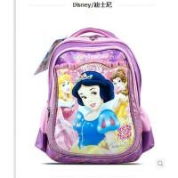 公主护脊双肩背包1-3年级小学生女孩卡通儿童书包爆款迪士尼