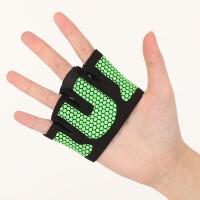 夏季透气运动四指健身瑜伽手套哑铃半指男女士护手掌举重训练防滑