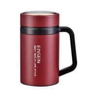 水宜生保温杯男商务水杯420ml 女士真空不锈钢大肚茶杯L510