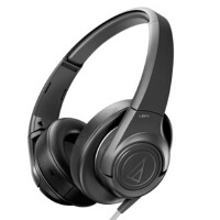 铁三角(Audio-technica)AX3 ATH-AX3 头戴式耳机 扁平导线 强力低音展现
