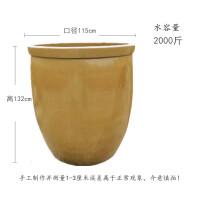 腌菜缸 发酵米缸复古水米桶大号陶瓷加厚水缸粗陶缸复古风酒缸发酵缸