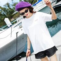 七格格T恤短袖女新款女装夏装上衣宽松学生韩版ulzzang百搭打底衫潮