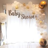 宝宝儿童生日派对布置用品商场活动开业节庆装饰气球链结婚庆