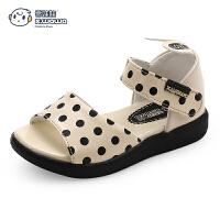 婴儿学步鞋可爱小公主凉鞋1-3岁夏款软底女