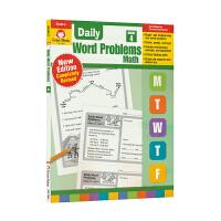 Evan Moor Daily Word Problems Math Grade 4 每日一练应用题练习册 小学四年级