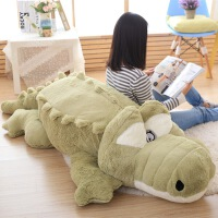 鳄鱼公仔儿童生日礼物女生毛绒玩具抱枕玩偶布大号娃娃玩偶靠垫