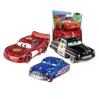 男孩礼物赛车总动员3玩具车基础合金小车静态车模动画