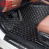 【用券立减200】御目 汽车脚垫 杭绣皮革全包围专车定制款脚垫防滑耐磨环保通用整套脚垫
