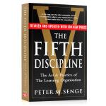 五项修炼 学习型组织的艺术与实践 英文原版 The Fifth Discipline有影响力的五部工商巨著之一 进口正
