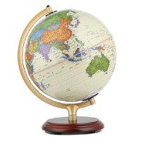 【正版现货】博目地球仪:25cm中英文政区仿古灯光地球仪 北京博目地图制品有限公司 9787503041204 测绘出