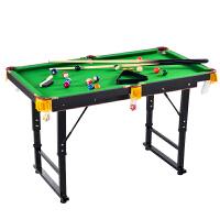 儿童台球桌 迷你玩具 斯诺克标准家用折叠大号 桌球台
