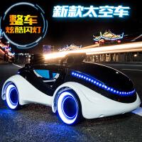 小孩电动童车汽车 儿童电动车 四轮带遥控宝宝婴儿可坐玩具车
