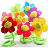 diy太阳花床挂 床绕 婴儿床玩具 宝宝毛绒玩具识别颜色床上装饰