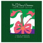 英文儿童立体书 12 DAYS OF CHRISTMAS 飞虫的12天 触摸书 原版