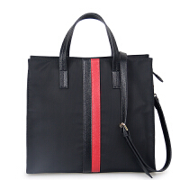 新款女包大包手提包帆布包h 黑色