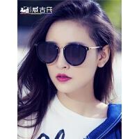 新款防紫外线圆脸明星款偏光眼镜墨镜女韩版潮