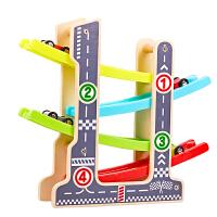 儿童玩具滑翔车早教滑翔轨道惯性回力小汽车套装1-2-3周岁男宝宝 炫酷赛车